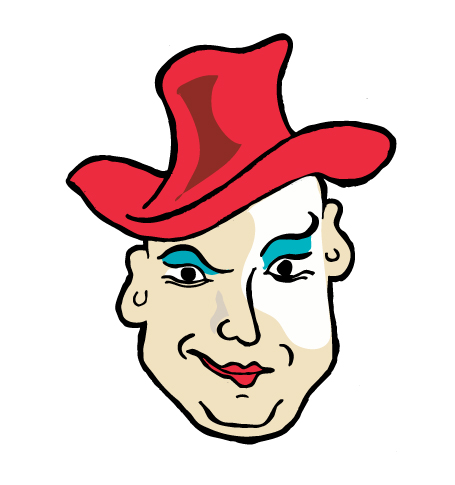 Boy George caricature