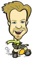 caricature Ewan McGregor